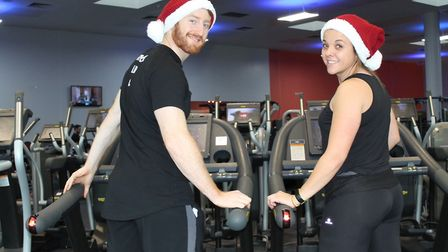 Vale Farm Sport's Centre is taking part in the Run Up To Christmas campaign. Picture: Everyone Activ