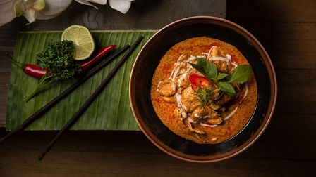 The Panang Chicken Curry at Thai Square Islington. Picture: Daniel Ogulewicz