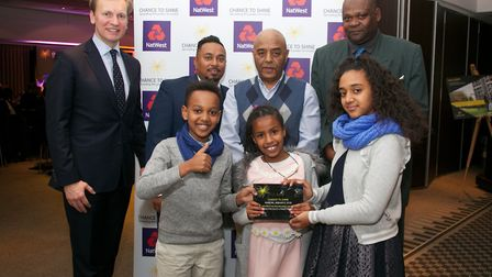 The Islington Street cricket project won the Natwest No Boundaries Award at the Chance to Shine Awar