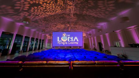 The Luna Cinema will show classic Christmas films at EartH in Hackney from December 17. Picture: Noa