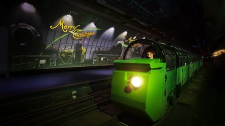 The Postal Museum is putting on special festive rides aboard its Mail Rail this Christmas.