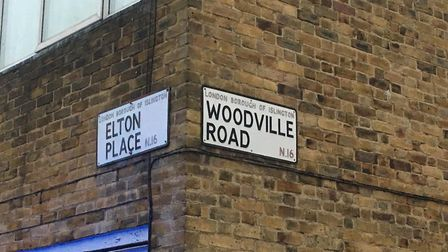 The man is thought to have been on the roof at Congreve House, near the corner of Elton Place and Wo