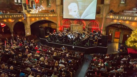 A free screening of The Snowman on December 9 will be accompanied by live music from East London Bra