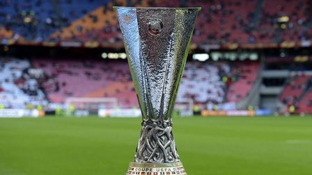 The Europa League trophy (pic: PA)