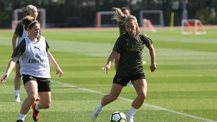 Jordan Nobbs gears up for the start of the FA Women's National League with an open training session