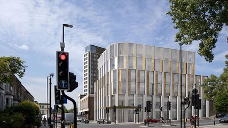 An artist's impression of the new Archway Central Hall. Picture: AVR London