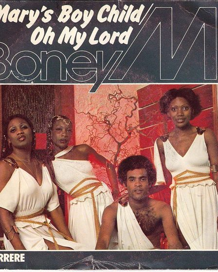 Boney M's Mary's Boy Child/Oh my Lord was Christmas number one in 1978. Picture: Sony Music