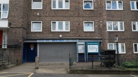 The BELMO office in Jays Street in the Barnsbury Estate. Picture: Siorna Ashby
