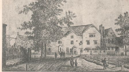 The Highbury Barn in 1775. Picture: Johnny Homer