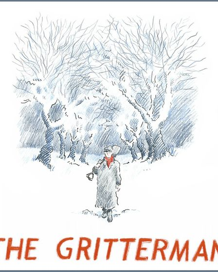 The Gritterman was written and illustrated by Weeks, and released in 2017. Picture: Orlando Weeks.