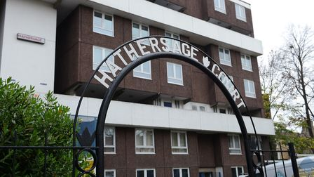 Hathersage Court in Newington Green. Picture: Chris Wood