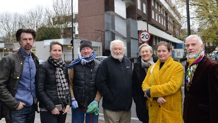 ANeighbours of Hathersage Court in Newington Green are concerned the development might set a precede