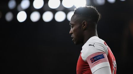 Danny Welbeck of Arsenal during the Europa League match at the Emirates Stadium. Picture by Martyn H