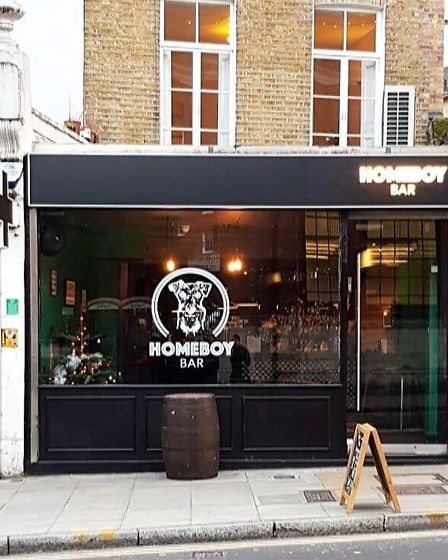 Homeboy replaces the former London Cocktail Club Islington venue. Picture: Aaron Wall
