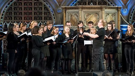 Khorus choir are performing at St Luke's Holloway for charity. Picture: Paul Hudson