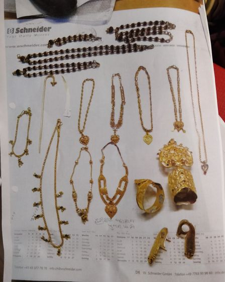These items were stolen from the SKSS temple.