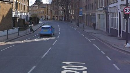 A 61-year-old man threatened a shopkeeper with his gun at home, it is claimed. Picture: Google Maps