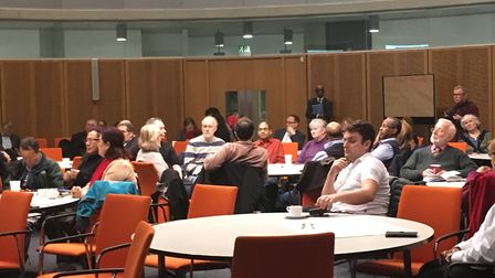 Community attends Brent Council's Time to Talk event on Brexit. Picture: Nathalie Raffray