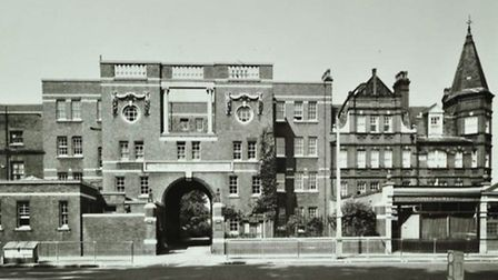 The China Inland Mission building on Newington Green in 1969. Picture: Courtesy of Collage – The Lon