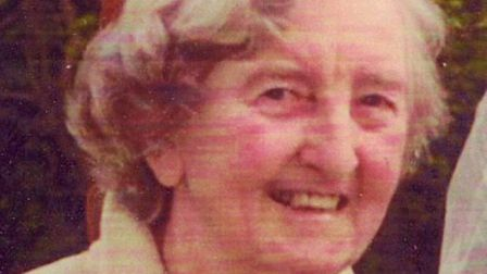 Molly Morgan was mugged and killed on the way to Kenton Library. Pic Met Police