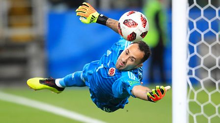 David Ospina is said to be in talks with Napoli. PA