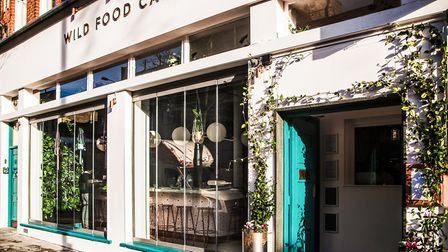 This second Wild Food Cafe opened after the success of its original site in Covent Garden.