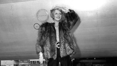 Twiggy, pictured in 1967, has been made a Dame for services to fashion, the arts and charity. Pictur