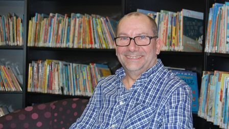 Tony Brown, Islington Council's library and heritage stock and reader development manager, has made