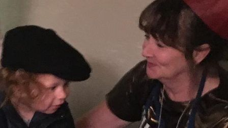 The heartbreaking final picture of Tracey Wilson and her grandson Cody, who she 'doted on', taken on