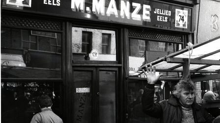 An old shot of M. Manze from the late 1970s.
