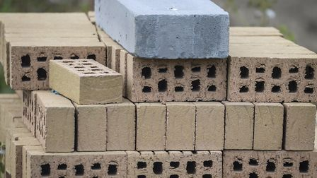 A file image of bricks on a building site. Kilburn man Daniel Mark Harrison has been banned from bei