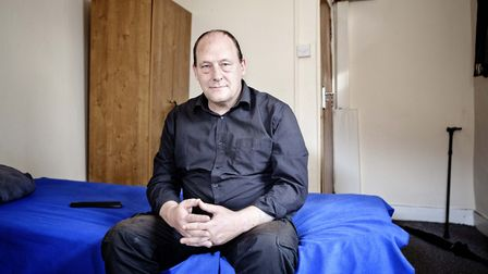 Wayne, who was housed under the Fulfilling Lives project. Picture: Single Homeless Project
