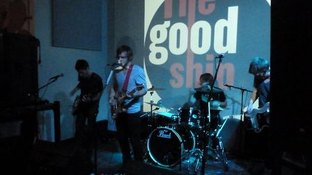 The Blackchords play at The Good Ship, Kilburn, in 2010. The music venue shut last year. Picture: Pa