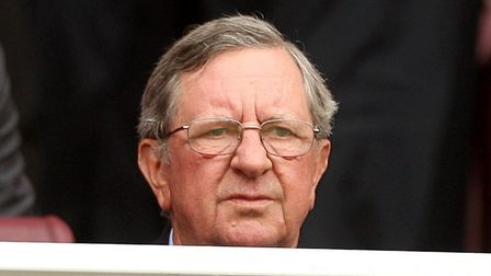 Former Arsenal chairman Peter Hill Wood.