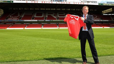 Current Queens Park Rangers boss Steve McClaren had a brief spell in charge of Nottingham Forest in