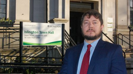 Cllr Andy Hull, executive member for finance, performance and community safety. Picture: Islington C
