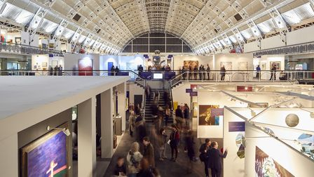 The annual London Art Fair returns to Islington between January 16 and 20. Picture: Mark Cocksedge.