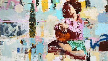 Contemplation by Dan Parry Jones will feature at the London Art Fair.