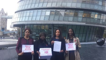 Cllr Michelline Safi Ngongo, Jennette Arnold AM, Cllr Claudia Webbe and Florence Eshalomi AM