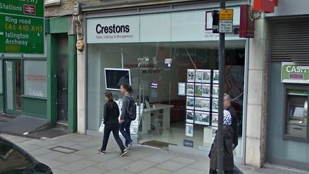 Crestons was in Caledonian Road. Picture: Google Maps