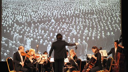 Holocaust Memorial Day -- World Harmony Orchestra at Islington Assembly Hall. Picture: Islington Cou