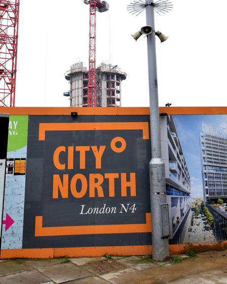 The City North development in Finsbury Park. Picture: Polly Hancock