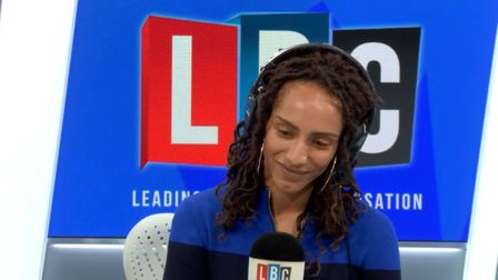 """LBC Radio presenter Afua Hirsch reacted angry after caller David claimed """"you don't value being Brit"""