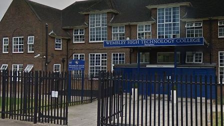 Wembley High Technology College. Photo by Google