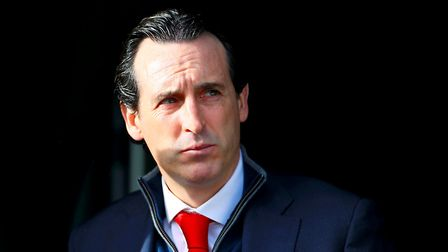 Arsenal manager Unai Emery ahead of the Premier League match at the John Smith's Stadium, Huddersfie