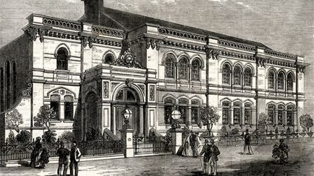 Historic picture of North London Synagogue