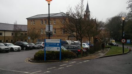 Highgate Mental Health Centre on Monday morning following the fatal fire. Picture: Sam Volpe