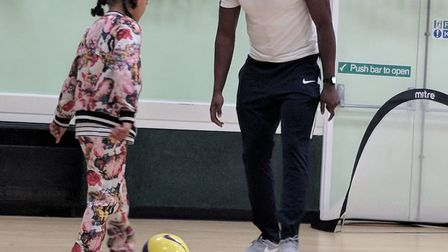 Wingate & Finchley's Ola Williams has co-founded a multi-sports company called Sporting Kids (pic: S