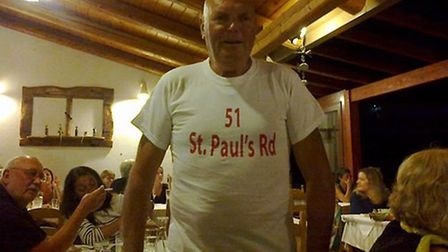 John Buckle needs specialist care after a car accident in Crete. Picture: Carol Forde