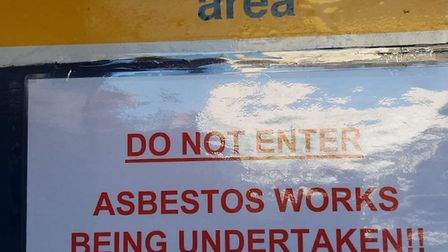 """1A Adrian House, in Barnsbury Estate, has been """"locked down"""" due to asbestos. Picture: Islington Gaz"""